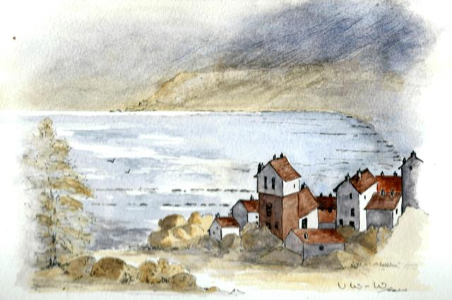 Robin Hood's Bay, south of Whitby, on the Yorkshire coast